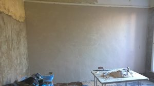 Damp proofing Bournemouth and Dorset an old wall in limelite replacement sand & lime in Bournemouth Poole Weymouth Dorchester Blandford Swanage Wimborne Wareham Dorset