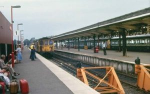 Weymouth's Victorian railway station