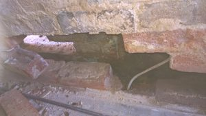 Damp & Woodworm Wall tie Failure Survey Page cavity walls causing penetrating damp
