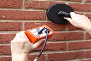 Cavity wall tie replacement metal detector
